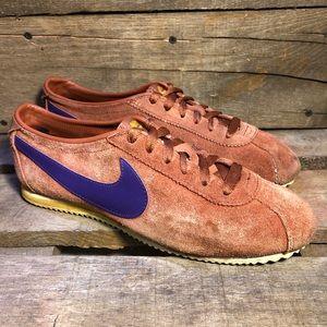 Vintage Nike Cortez Suede Brown Shoes